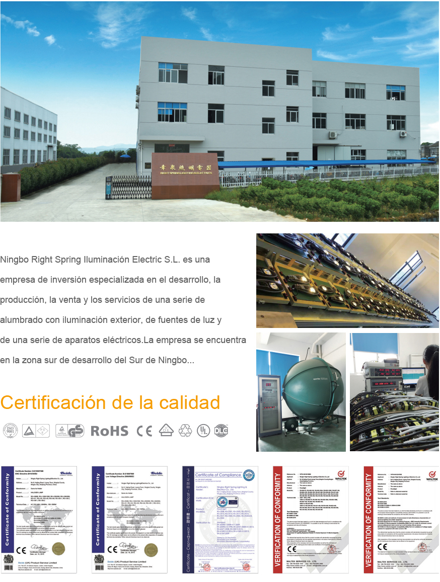 Ningbo Right Spring Lighting&Electrics Co.,Ltd